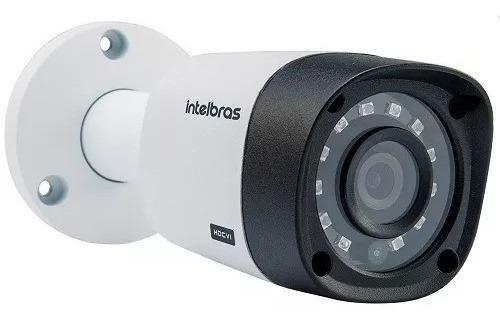 câmera intelbras bullet vhd 1120b g4 2.6mm 20m 720p multi hd