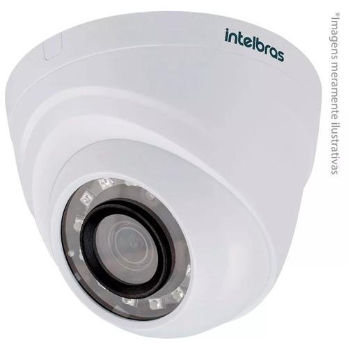 câmera intelbras g4 hdcvi 720p mult hd 1120d 2,6 mm infrared