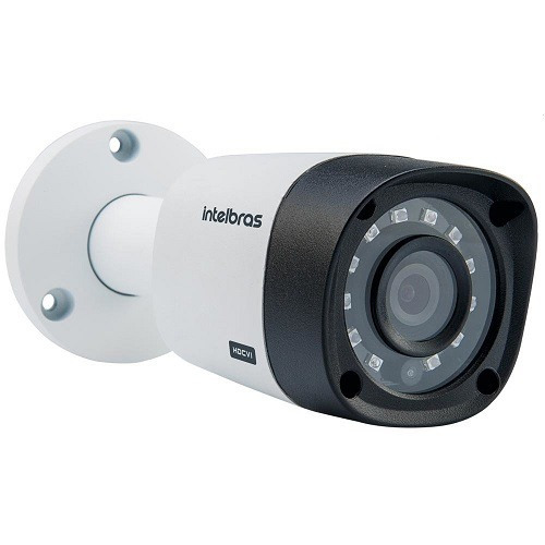 câmera intelbras hdcvi 720p 10mts mult hd 1010b 3,6mm g4