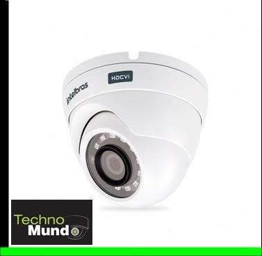 câmera intelbras hdcvi 720p 20mts mult hd 3120d 2.6mm g4