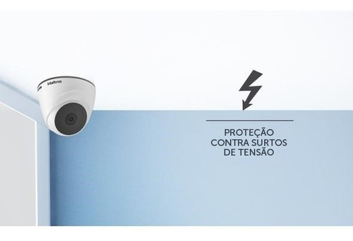 câmera intelbras vhl 1120 d - infra dome hdcvi 1 mega 720p