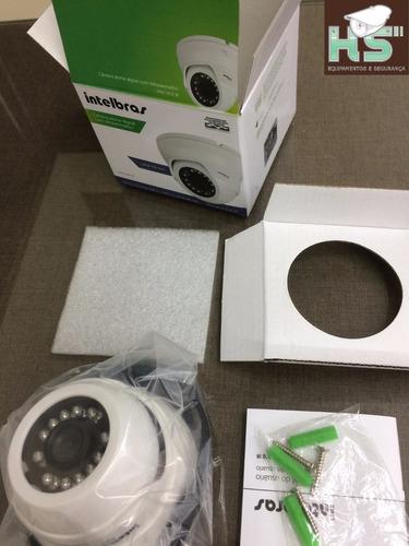 câmera intelbras vmd1010 ir g4 ahd 720p 900 analógica nfe