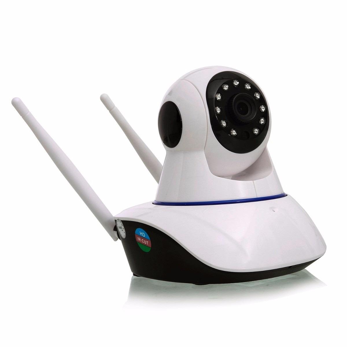 Câmera Ip 1.3mp 720p Hd Wireless Wifi Audio Sd P2p 2