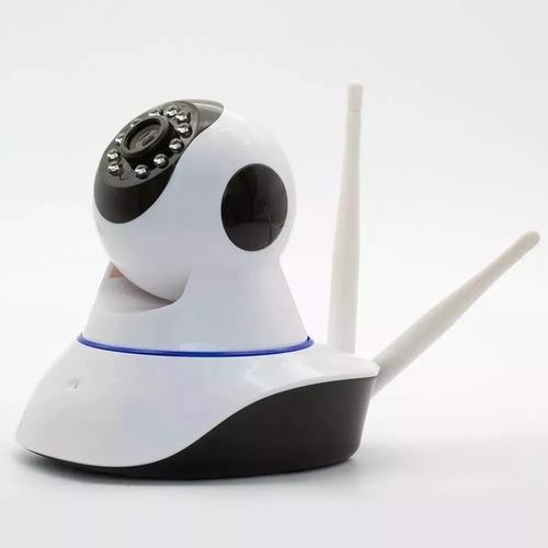 câmera ip 3 antenas wifi noturna rotativa wireles 3ª geração