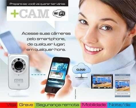 Câmera Ip +cam Cloud Baba Eletrônica Ecotronic