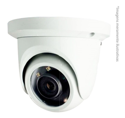 câmera ip dome infra tecvoz 1.3 mp 3,6mm 30mts tw-idm100