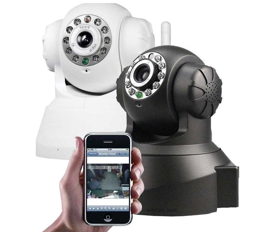 Câmera Ip Dvr Sem Fio Wireless Alarme Gravador Rj45 Micro