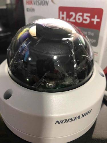 câmera ip hikvision 8mp 4k ds-2cd2185fwd-i 4mm dome