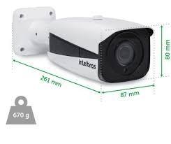 câmera ip intelbras bullet vip 1130 vf  ir 30mts - bullet