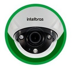 câmera ip vip 5450 dz dome full hd/4m p/ 2.7 12mm intelbras