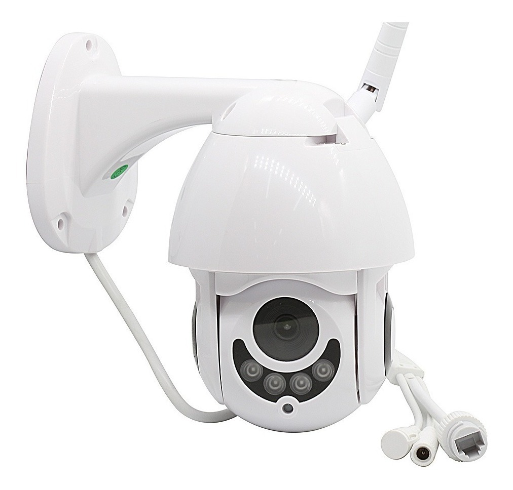 Câmera Ip Wifi Rotativa Externa Dome Prova Da Água Hd Icsee