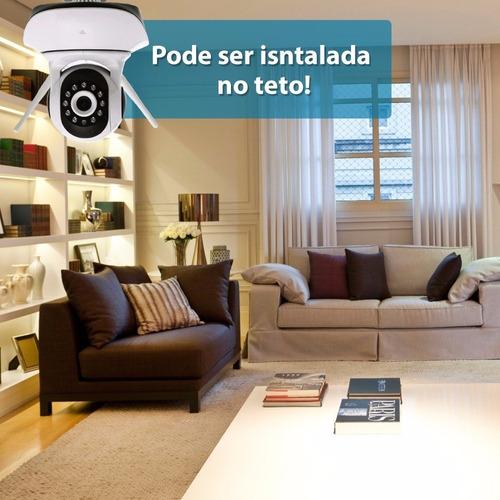 câmera ip wifi sem fio vigilância residencial pelo celular