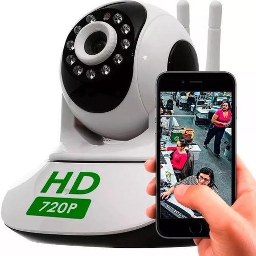 câmera  ip wireless visão noturna iphone, android sem fio