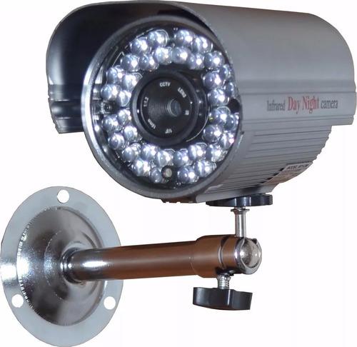 câmera lente de 12mm e super leds identificação veículos top