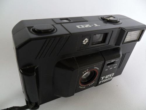 câmera máquina fotográfica antiga frata t 20 coleção ba