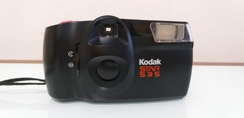 câmera máquina fotográfica kodak star 535 raridade!