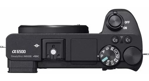 câmera mirrorless a6500 c/ lente 16-50mm 4k wifi nota fiscal