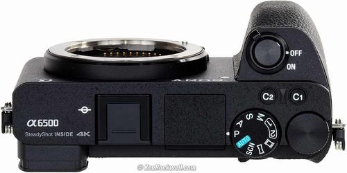 câmera mirrorless a6500 (corpo) 4k