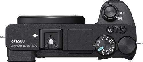 câmera mirrorless sony alpha a6500 lente 16-50mm nota fiscal