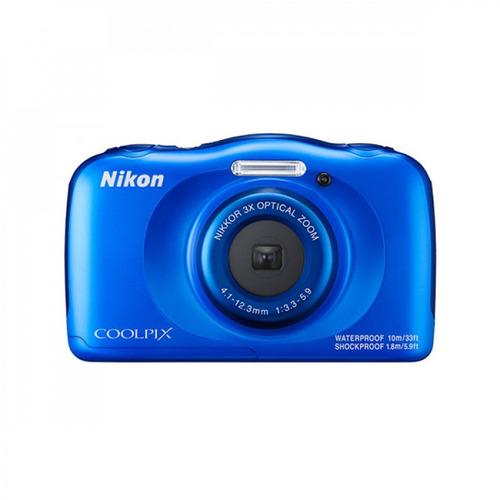 câmera nikon coolpix w100 wi-fi + cartão 16gb