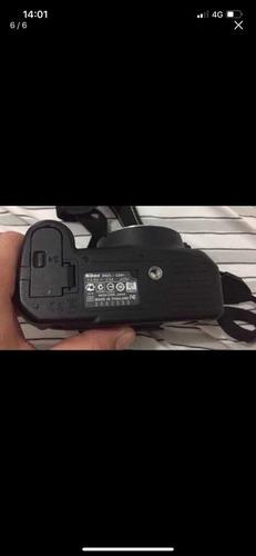 câmera nikon d3100 pouquíssimo uso estado de zero com case