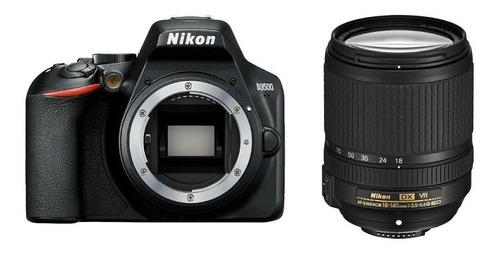 câmera nikon d3500 dslr com lente 18-140mm 12x s/juros