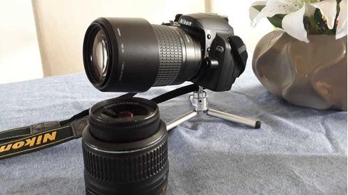 câmera nikon d40