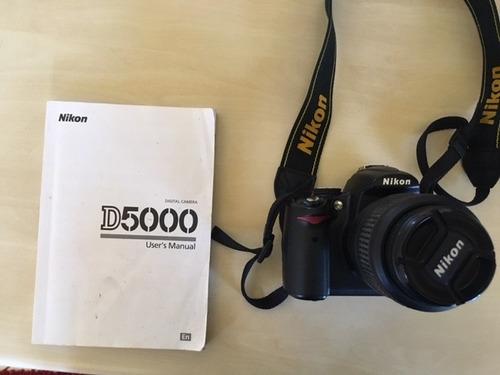 câmera nikon d5000 - lente 18-55