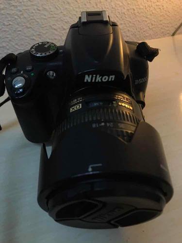 câmera nikon d5000 lente 18-70