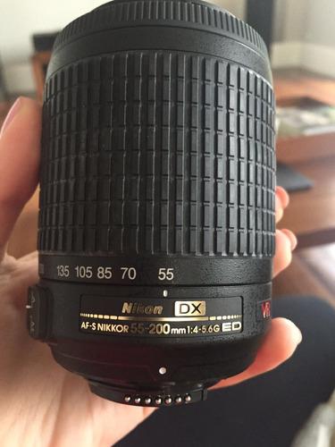 câmera nikon d5100 + 2 lentes e acessórios - pouquíssimo uso