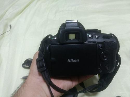 câmera nikon d5100+lente 18-55mm full hd