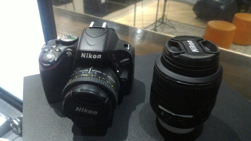câmera nikon d5100 lentes 18-55 e 50mm full hd n canon,sony