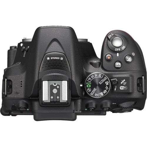 câmera nikon d5300 + 18-55 + bolsa + 64gb c/10 + tripé em sp