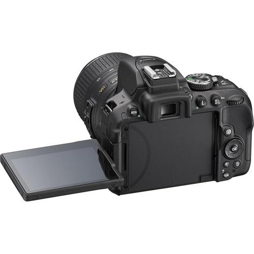 câmera nikon d5300+18-55+bolsa+tripé+64gb envio hj com nf-e