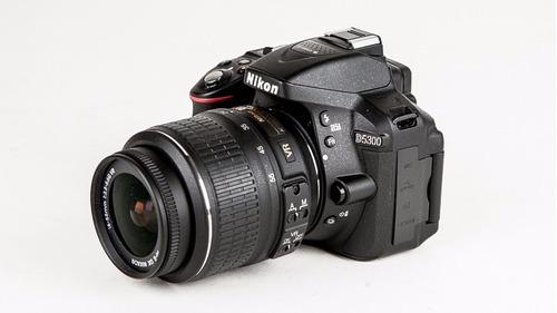 câmera nikon d5300 18-55mm 24.1mp