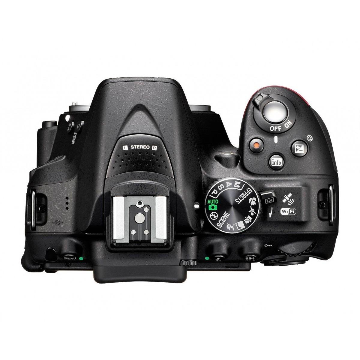 Câmera Nikon D5300 Dslr Com Kit De Lente Af-p 18-55mm