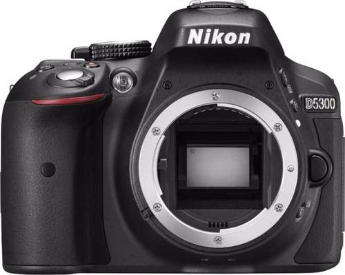 câmera nikon d5300 full hd 18-55mm+64gb+bolsa+tripé s/juros