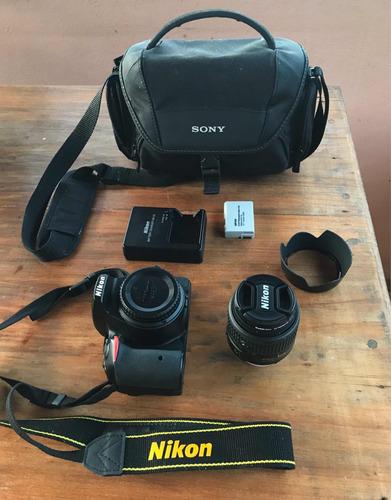 câmera nikon d5500