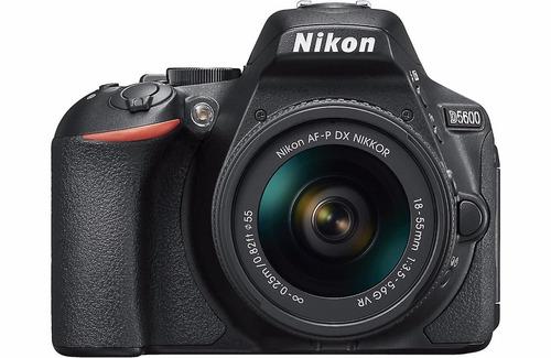 câmera nikon d5600+18-55+bolsa+tripé+64gb envio hj com nf-e