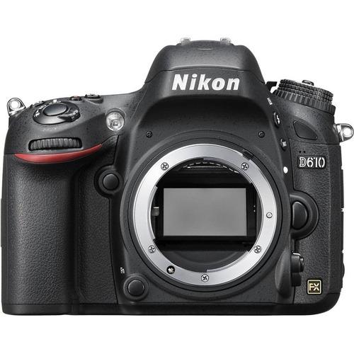 câmera nikon d610 corpo+bolsa+tripé+64gb c/10 em são paulo !