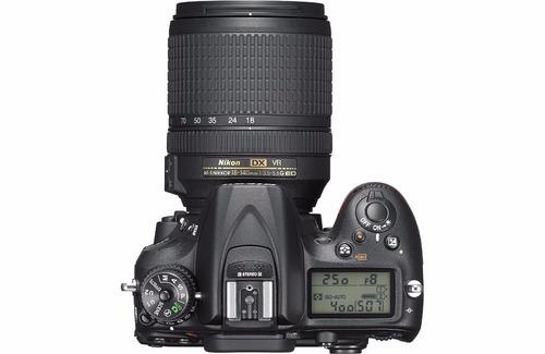 câmera nikon d7200+18-140+bolsa+tripé+32gb c/10 em sp
