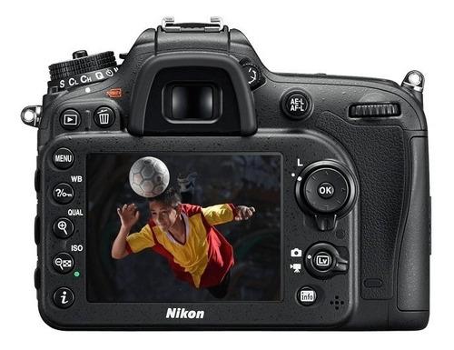 câmera nikon d7200 somente corpo