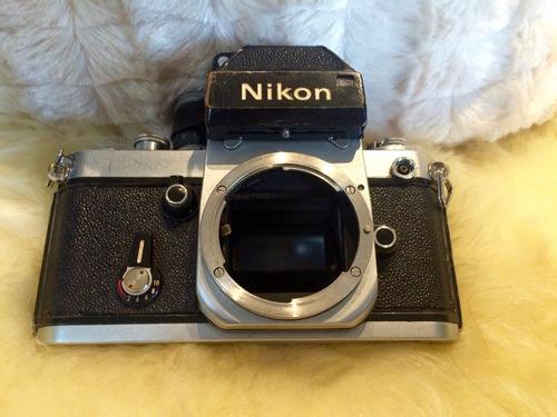 câmera nikon f2 corpo 35mm profissional analógica