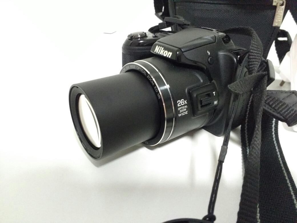 Cmera Nikon L810 Coolpix Semi Profissional Filma Em Hd R 650 Carregando Zoom
