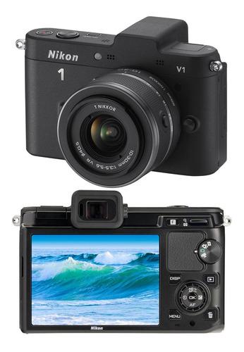 câmera nikon v1 10.1 mp lente 10-30 mm youtube full hd 1080p