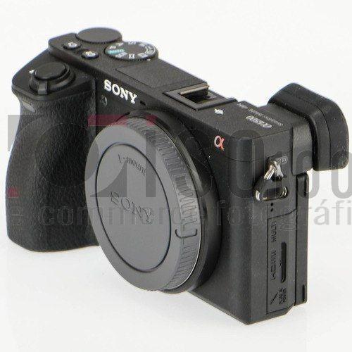 câmera nova sony alpha a6500 corpo 4k +nf-e gar. sony brasil