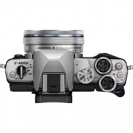 câmera olympus e-m10 mark ii body  preta ou prata p.entrega