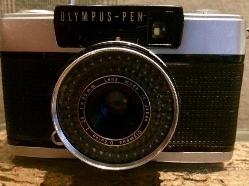 câmera olympus ees-2 meio quadro revisada excelente