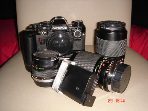 câmera olympus - equipamento.