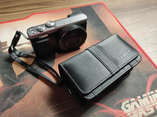 câmera panasonic lumix dmc-zs60 4k zoom 30x lente leica